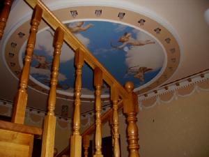 Фото Художественные потолки