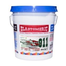 Фото Эластомерик 911 Гидробарьер (RAL 8017 темно-коричневый) (20 кг) однокомпонентное эластичное цветное покрытие для гидроизоляции и окраски металлических и шиферных крыш