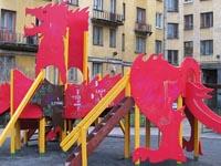 Фото Детский игровой комплекс металлический