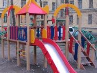 Фото Спортивно игровой комплекс детский пирамида