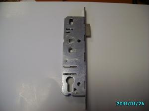 Фото Замок для металлопластиковых дверей с фалевой защелкой аналог KFV