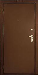 Фото дверь стальная Эльбор Стандарт 880х2050
