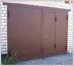 Фото Гаражные металлические ворота на заказ