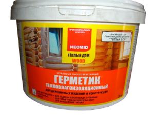 Фото Шовный герметик для дерева Теплый ДОМ Wood Professional PLUS