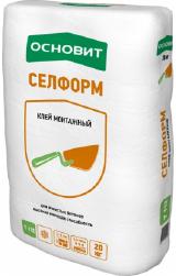 Фото ОСНОВИТ СЕЛФОРМ Т-112 - Кладочная смесь пенобетон
