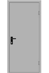 Фото Двери металлические противопожарные EI 60