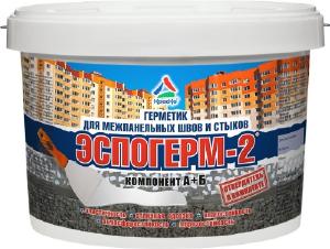 Фото Эспогерм-2 - полиуретановый герметик для межпанельных швов, ведро 12кг