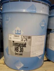 Фото Краска эпоксидная Темакоут (Temacoat)ХБ 30,колеровка (Финляндия, Тиккурила)