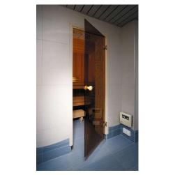 Фото Дверь для сауны Ahdres 0,7х1,9 бронза стекло