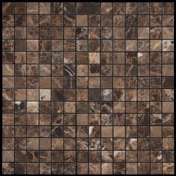 Фото Мозаика из натурального камня серия ADRIATICA M022-20P (Emperador Dark)