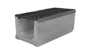 Фото Лоток водоотводный бетонный канал DN 100,150,200,300,500 ЛВ, SUPER, MAXI.