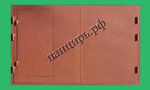 Фото гаражные металлические ворота