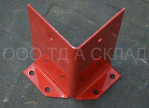 Фото Защита рамы стеллажа угловая П 90, 120, P 100, 120