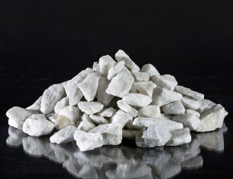Щебень мраморный, песок мелкофракционированный мраморный