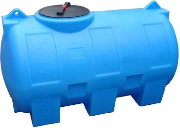 емкость для воды пластик 1000 л горизонтальная