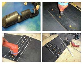 Пластины КВМ для стыковки и ремонта конвейерных лент (транспортера)