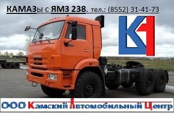 КАМАЗ 44108 с двигателем ЯМЗ 238 Д1 турбо