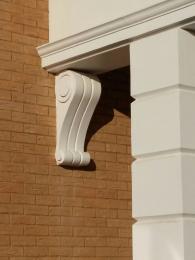 Фасадные архитектурные элементы из пенополистирола с покрытием