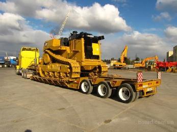 Перевозко строй техники и негабаритных грузов