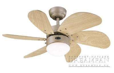 Снят с производства потолочный вентилятор Westinghouse Turbo Swirl