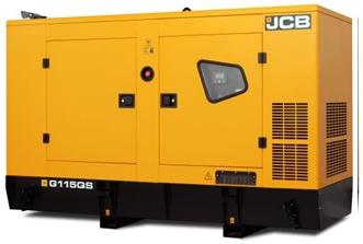Дизельный генератор JCB G115 (ДГУ) (80-100 кВт)