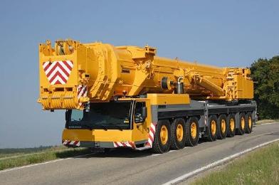 Аренда крана 500 тонн, аренда автокрана 500 тонн, автокран LIEBHERR LTM 1500-8.1 г/п 500 тонн