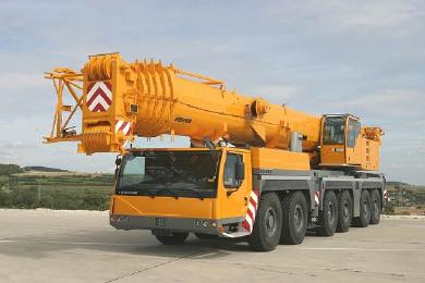 Аренда крана 300 тонн, аренда автокрана 300 тонн, автокран LIEBHERR LTM 1300-6.1 г/п 300 тонн