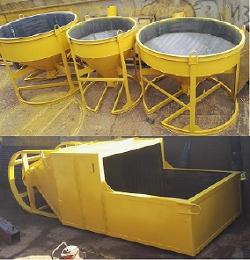 Бадья для бетона БН (Рюмка, Колокольчик) вертикальная неповоротная