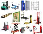Техника и оборудование для склада: Тележки, рохли, стеллажи, шкафы и т.д.