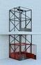 Подъемник шахтный грузовой лифт