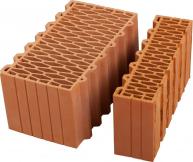 Крупноформатные керамические поризованные блоки Porotherm, Braer