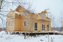 Дом из СИП панелей с утеплителем ПЕНОПОЛИУРЕТАН - это лучшее решение для частного домостроительства!