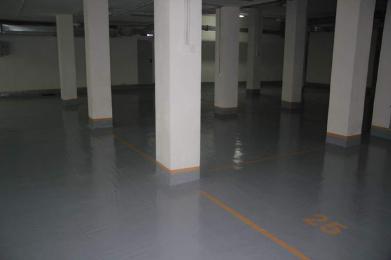 Полимерные полы для паркинга склада