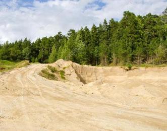 Песок строительный напрямую с карьера 90 руб/тн