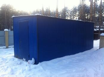 Бытовка (вагон-дом) для зимы