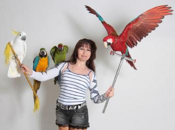 Скидки до 20% на уникальное экзотическое Шоу с попугаями