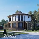 Проект круглого дома