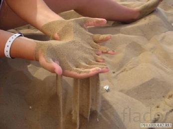 Песок речной и карьерный