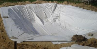 Геотекстиль 200 гр/м2 (полиэфир)