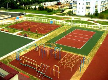Футбольное поля, стадион с натуральным и искусственным газоном в любой точке России. Строительство
