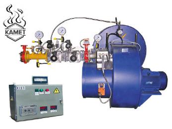 Автоматизированная газовая горелка для АБЗ