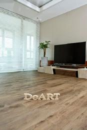 Кварцвиниловая плитка DeART Floor - износостойкое напольное покрытие