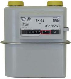 счетчики газа коммунальные BK-G бытовые