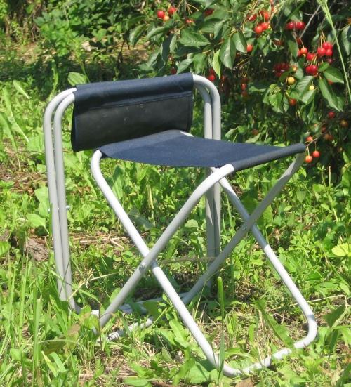 Как сделать походный стул