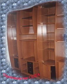 Стенка-горка - Стенки-горки - Фото - Портфолио - Мебельный цех 1 - мебель на заказ в Пскове