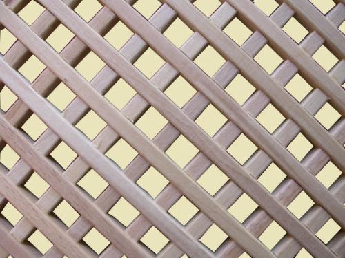 Фото Декоративные, деревянные решетки.