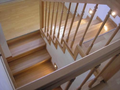 Лестница на металлокаркасе - Фотогалерея.