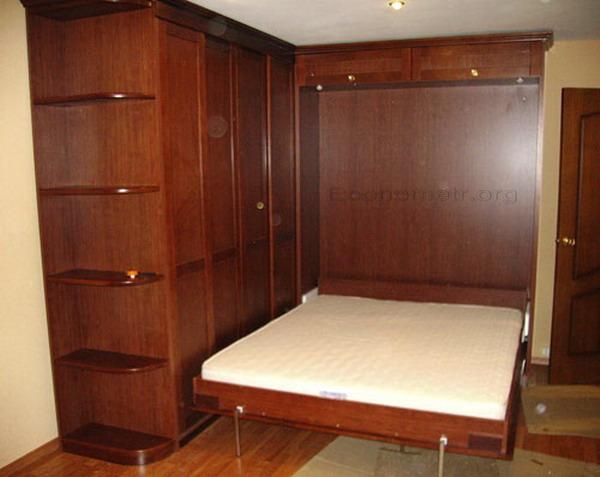 shkr2. Кровать, встроенная в шкаф