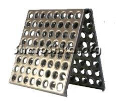 Металлическая плитка для пола 1 мм Сталь 08ПС, 300*300 мм, толщина 1мм.