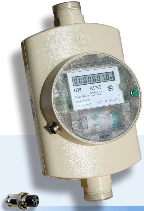Счетчик газа Агат G-25
